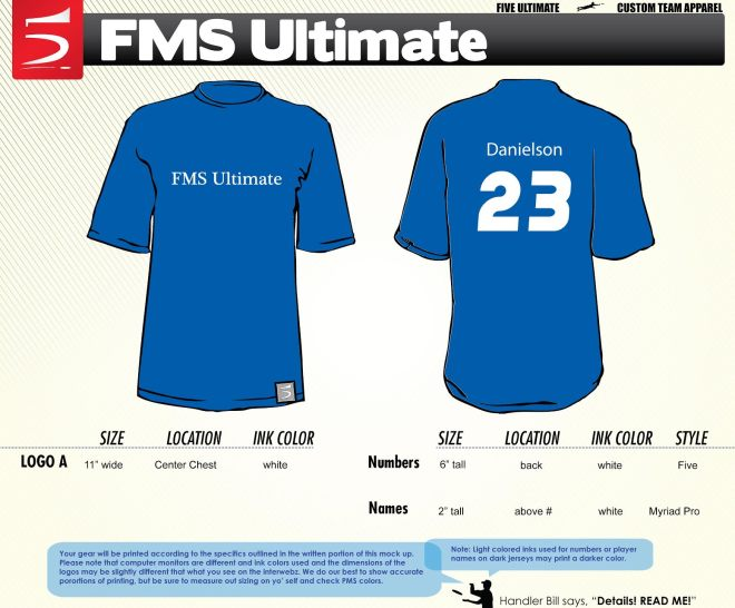 FMS jersey mockup