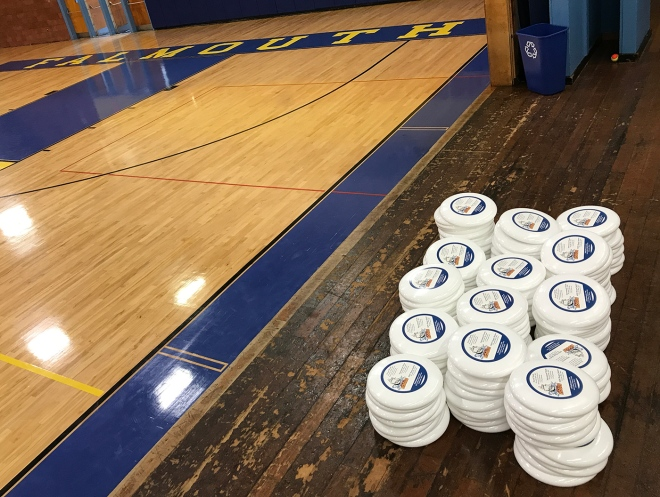 discs in gym